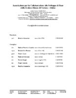 Consiglio di Amministrazione_Associazione Sviluppo Guinea Bissau (2014)